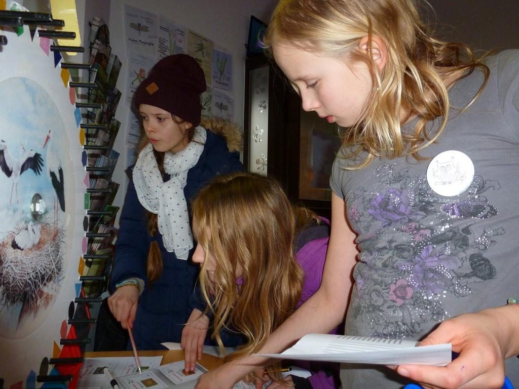 Am NABU-Glücksrad konnte man Quizfragen zu Natur und Umwelt beantworten und kleine Preise gewinnen.