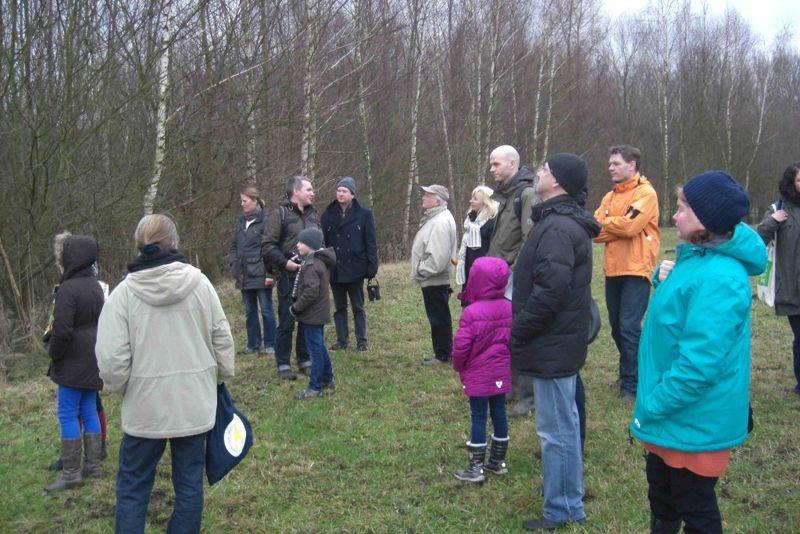 Am Sonntagnachmittag hatte die NABU-Ortsgruppe Plaußig-Portitz zur Stunde der Wintervögel eingeladen. Foto: Mario Vormbaum