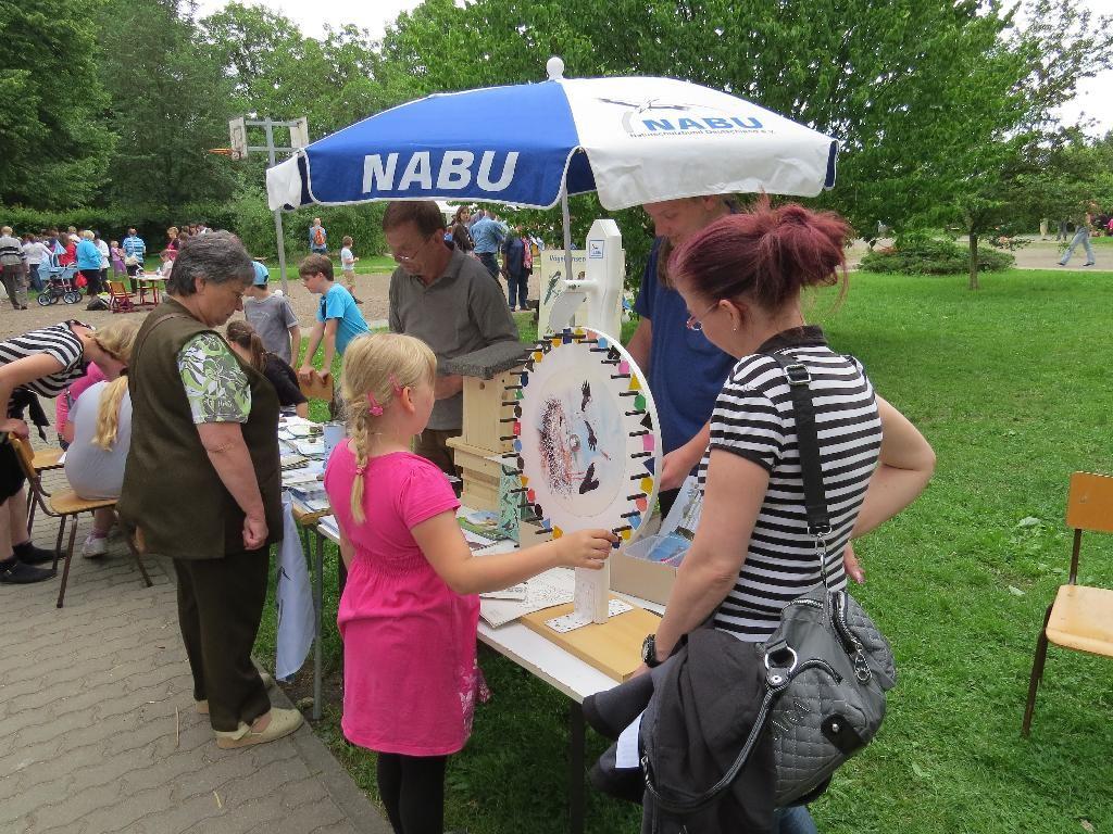 Der NABU Leipzig bedankt sich bei der 24. Grundschule für die Einladung zum Sommerfest und für den bunten Nachmittag.