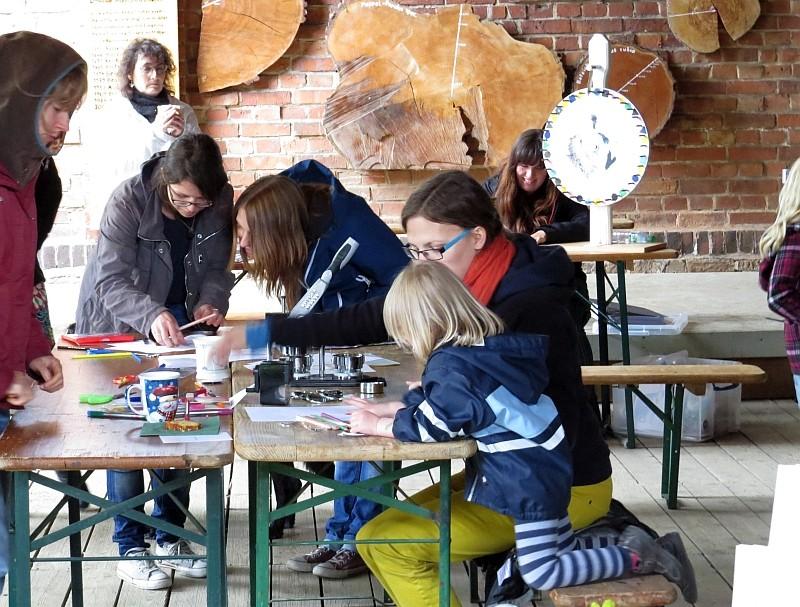 Am Samstag ging das Veranstaltungswochenende mit einem Familientag an der Auwaldstation Lützschena weiter.