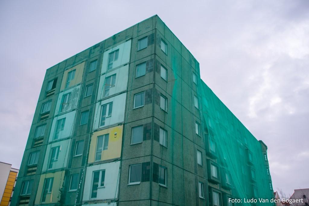 Gebäudesanierungen gefährden die Niststätten des Haussperlings und anderer Gebäudebrüter.