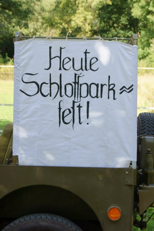 Am 1. September hatte der Förderverein Auwaldstation und Schlosspark Lützschena e. V. zum 19. Lützschenaer Schlossparkfest geladen. Foto: René Sievert