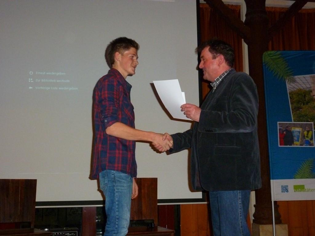 Platz 1 im Video-Wettbewerb ging an Philipp Ebert aus Machern.<p/>Foto: Daniela Dunger