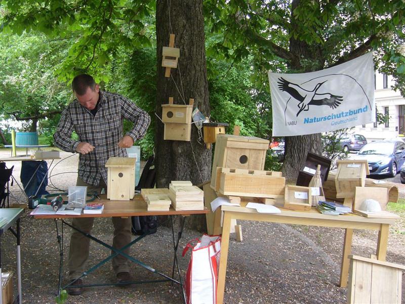 Nistkastenquiz und -bau haben Vogelfreunde angelockt. Foto: Claudia Tavares
