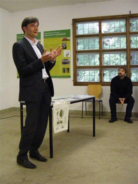 Eröffnet wurde die Naturschutzwoche 2012 von Bürgermeister Heiko Rosenthal, Leipzigs Beigeordnetem für Umwelt, Ordnung und Sport.<p/>Foto: Claudia Tavares