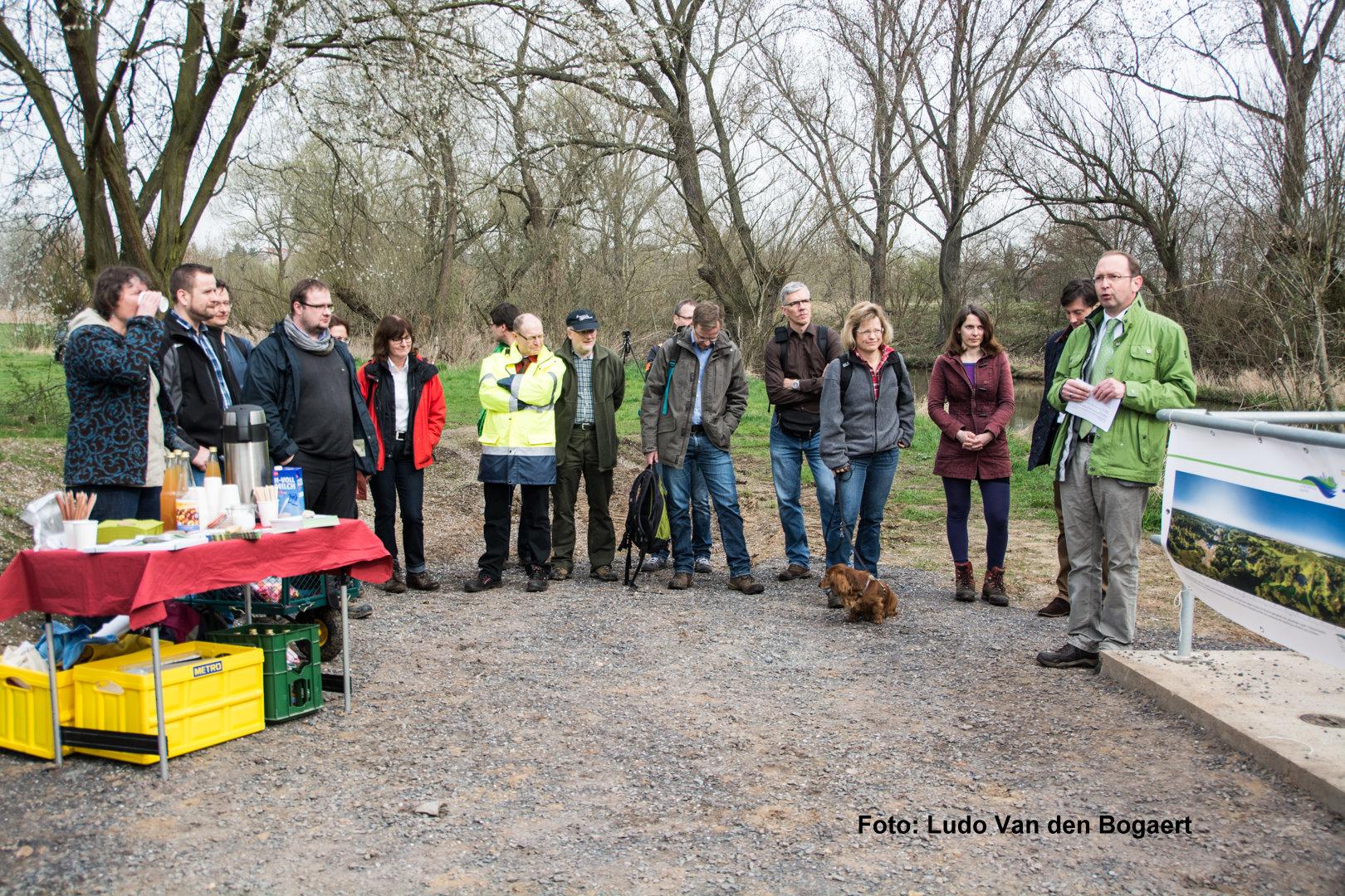 Matthias Herbert vom Bundesamt für Naturschutz würdigte das Leipziger und Schkeuditzer Auensystem als besonderen Hotspot der Biodiversität.