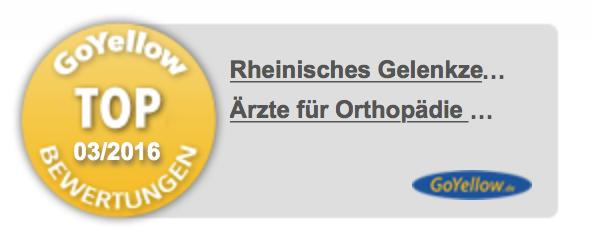 Bild: Orthopädie Orthopäden Sportmedizin Gatscher Rheinisches Gelenkzentrum Bergisch Gladbach