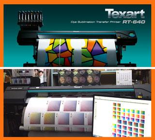 Texart RT-640 昇華転写プリンター
