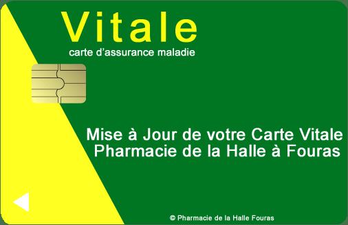Mise A Jour Carte Vitale Pharmacie De La Halle A Fouras
