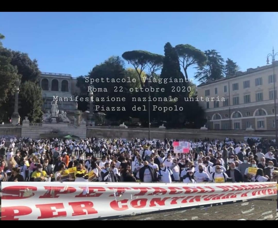Manifestazione 22 Ottobre 2020