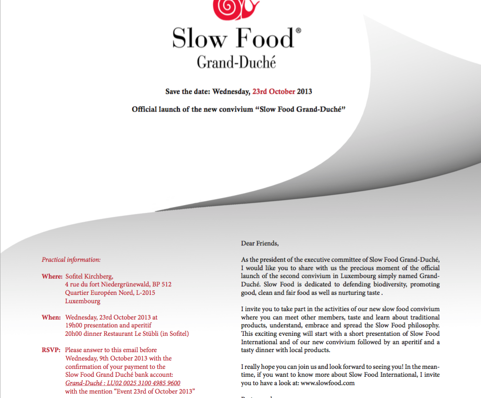 Sfg D Official Launch Slow Food Grand Duché