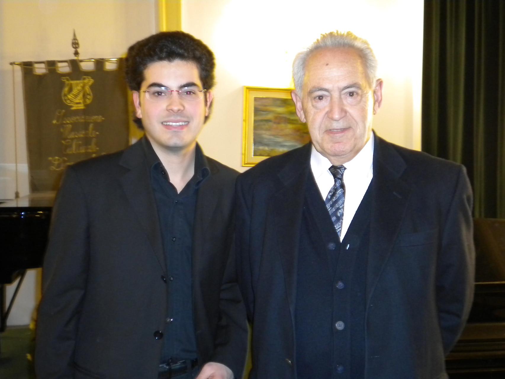 With M° Felix Ayo