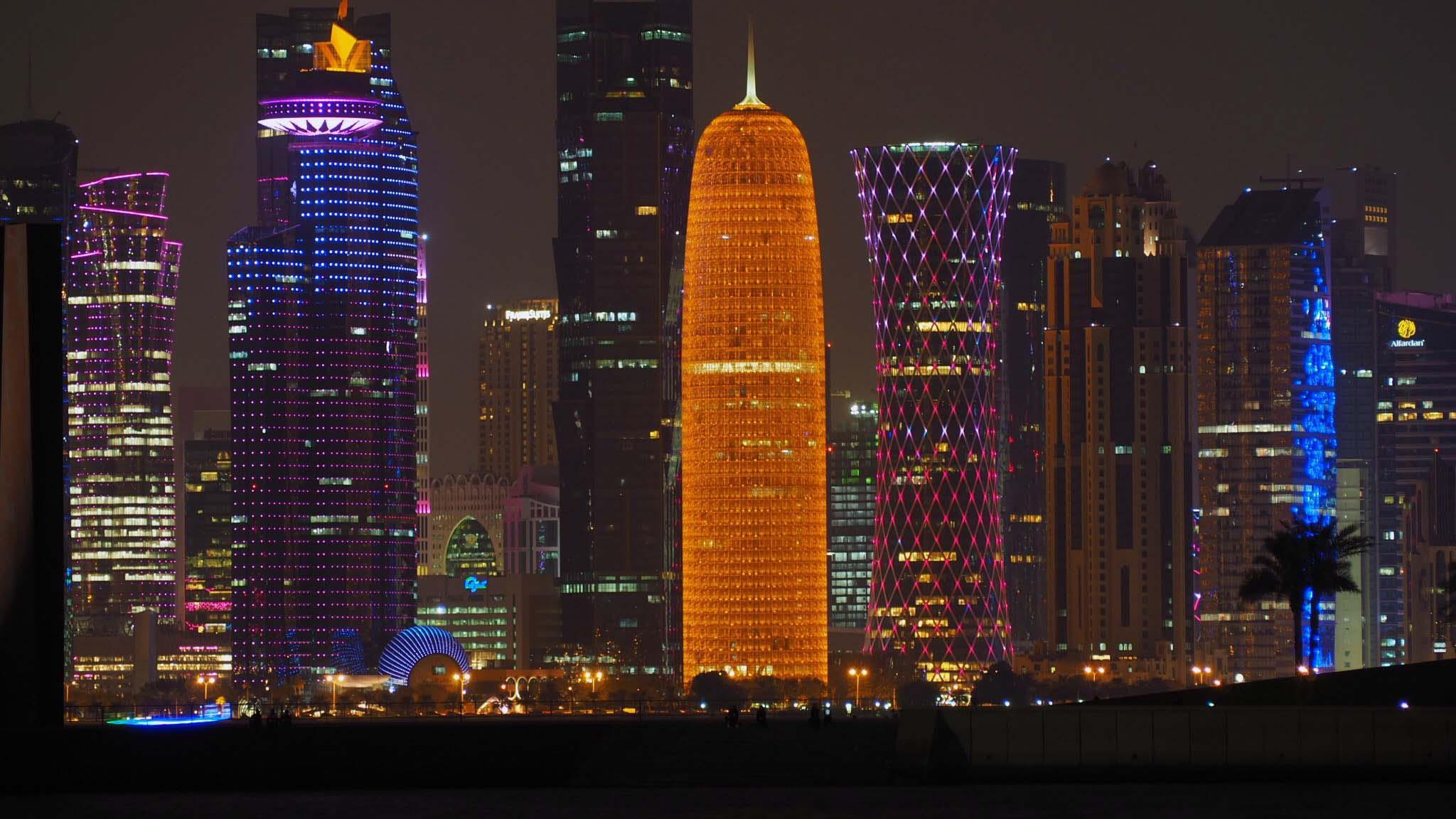 Vue sur Doha - Qatar