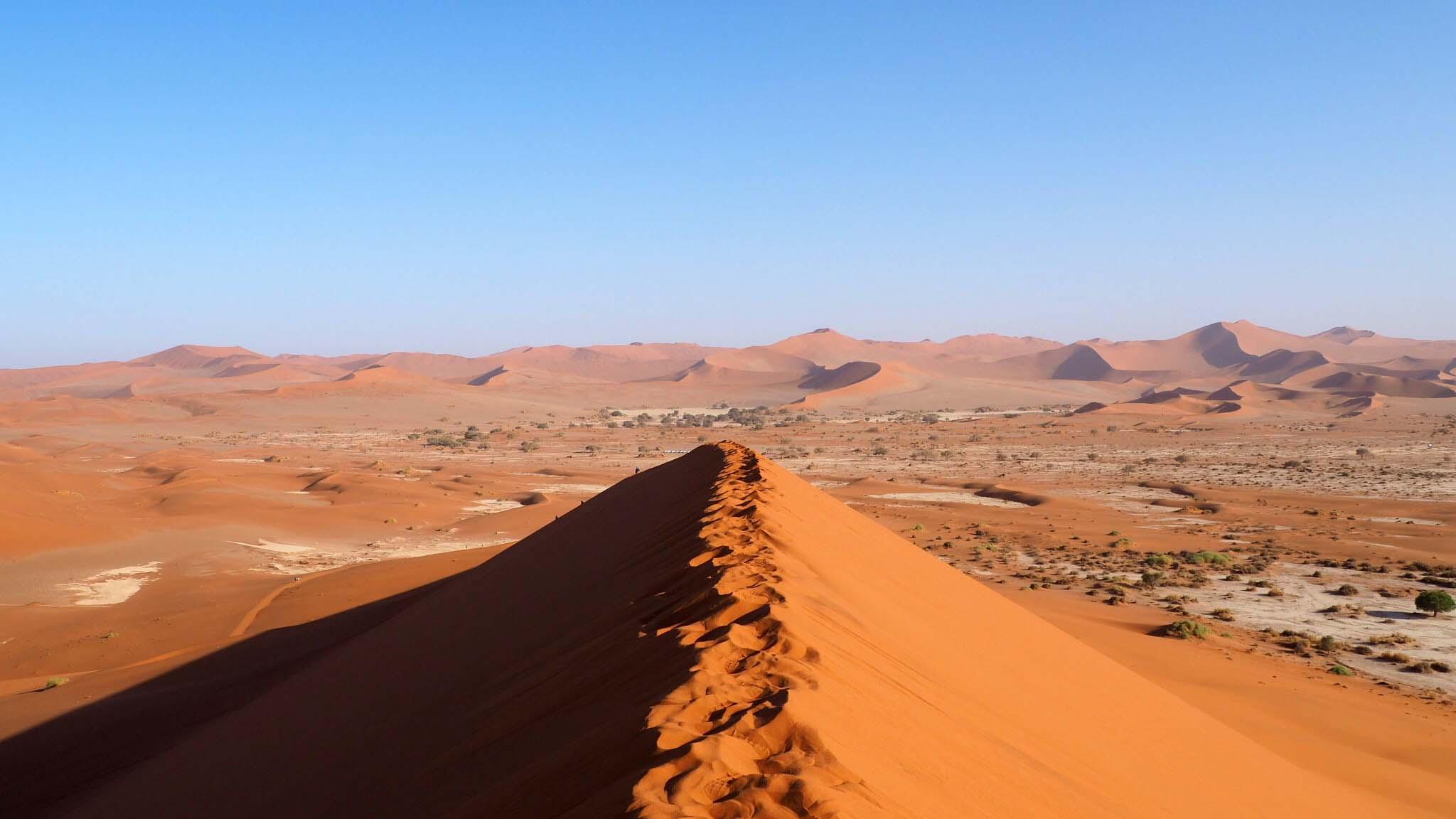 Dune de Sossuvlei - Namibie