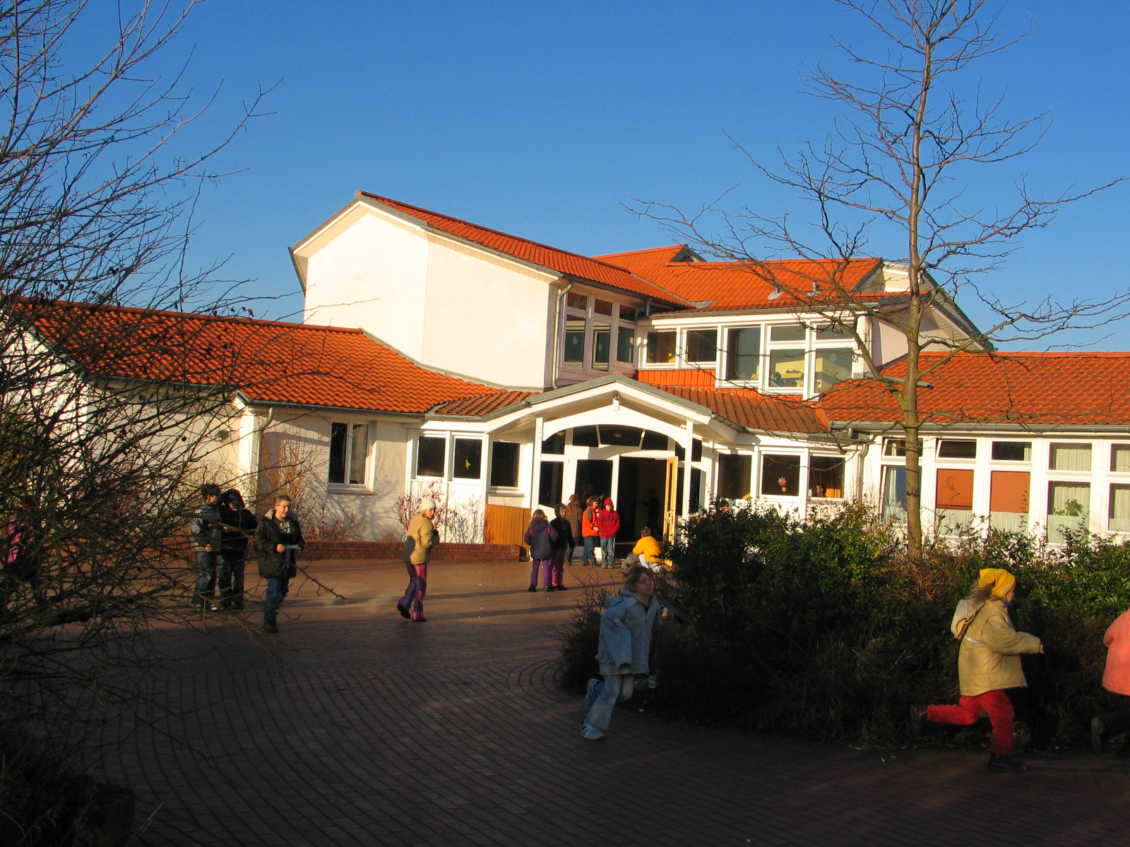 Das Unterstufengebäude