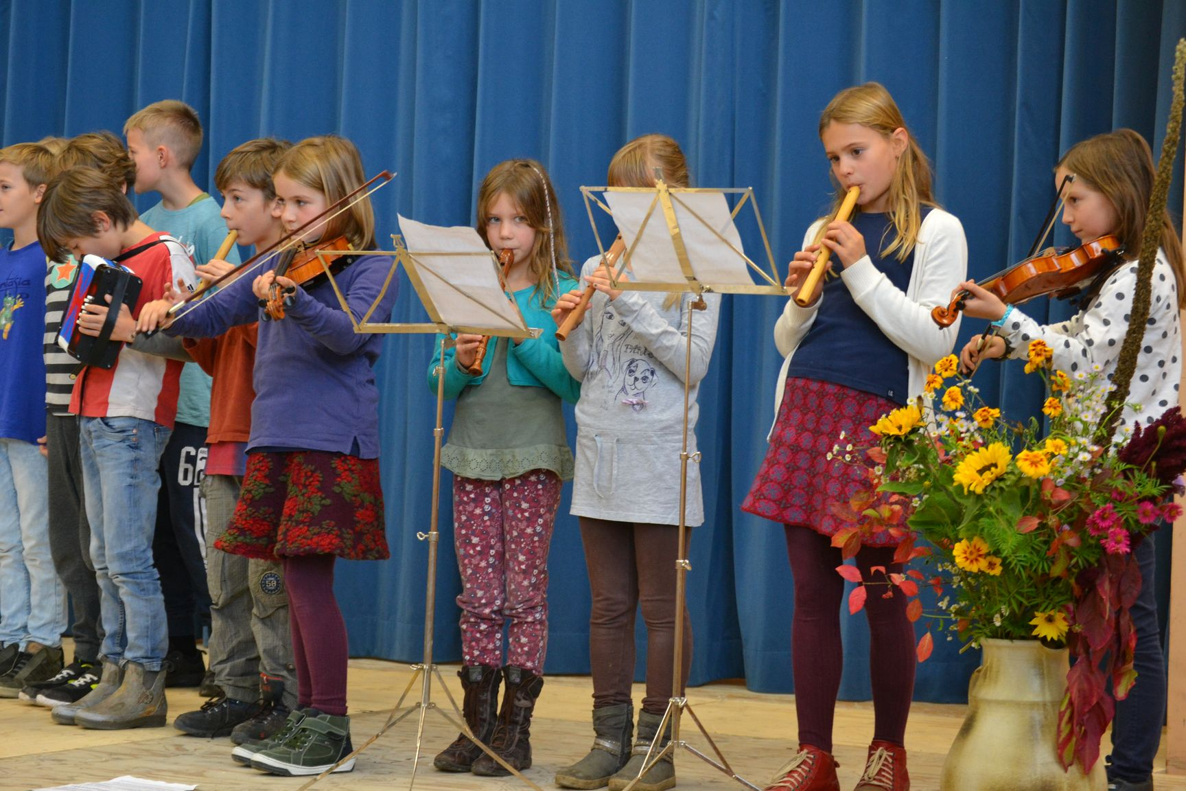 Musik zur Schulfeier