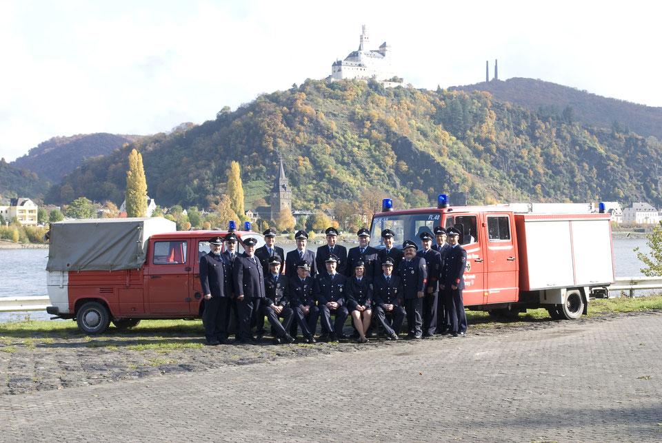 Der Löschzug Brey beim 150-jährigem Bestehen in 2011.