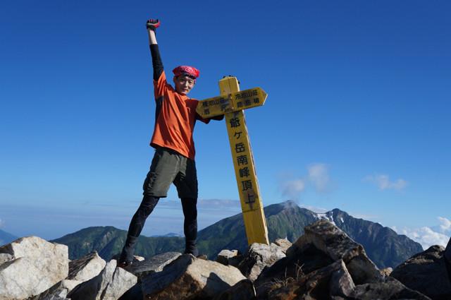 爺ヶ岳(2012,08)