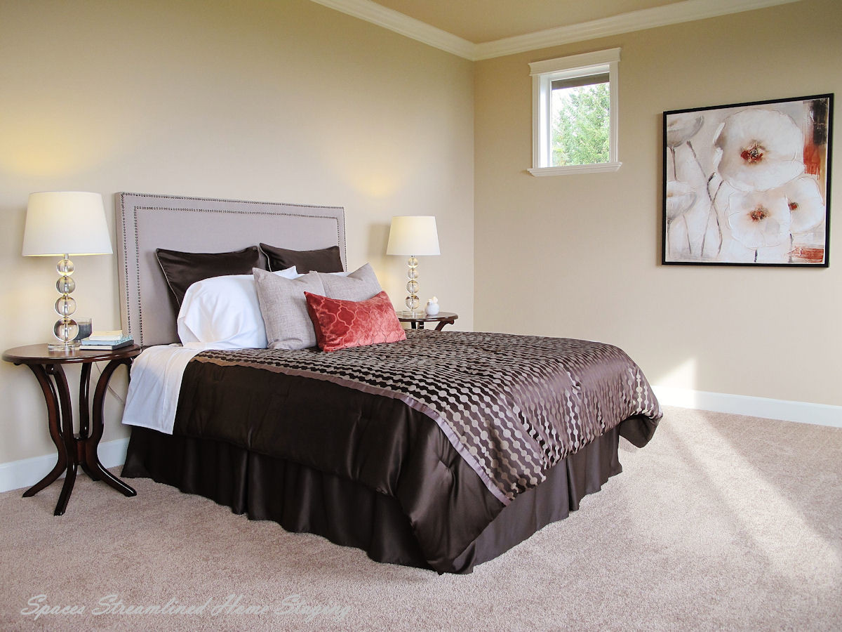 Silverdale Home Staging Bedroom
