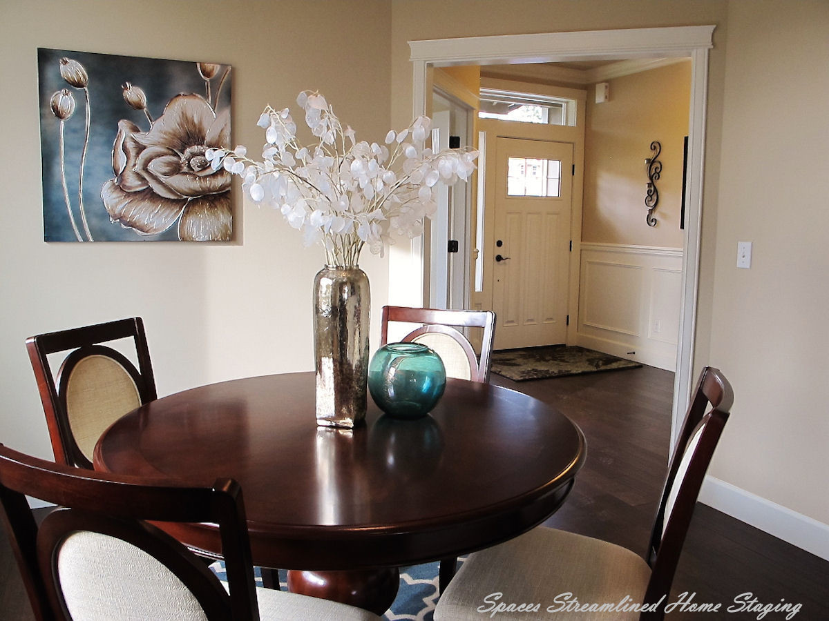 Home Staging Silverdale Dining Room