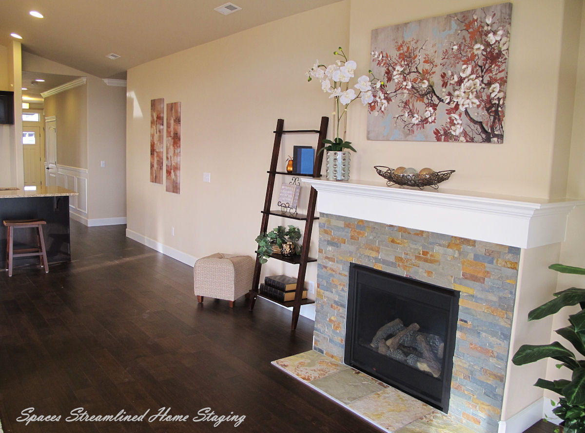 Silverdale Great Room Staging