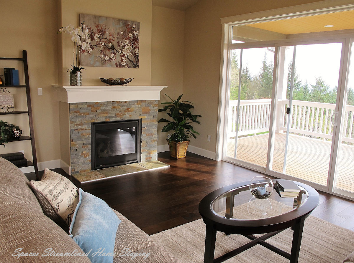 Silverdale Home Staging Living Room