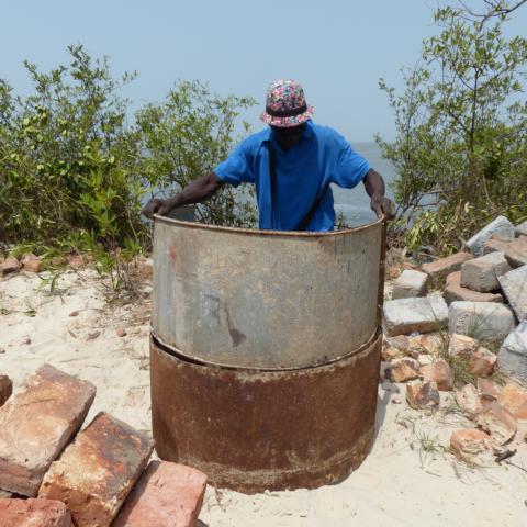 Brunnenbaubau, Verwendung der Gussformen