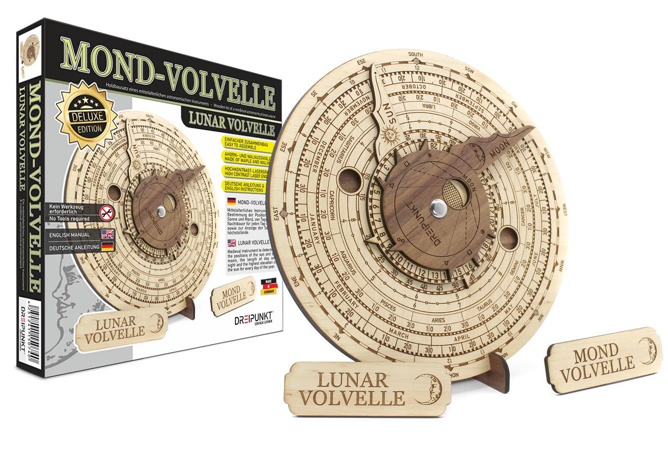 NEU: Mond-Volvelle Deluxe Edition
