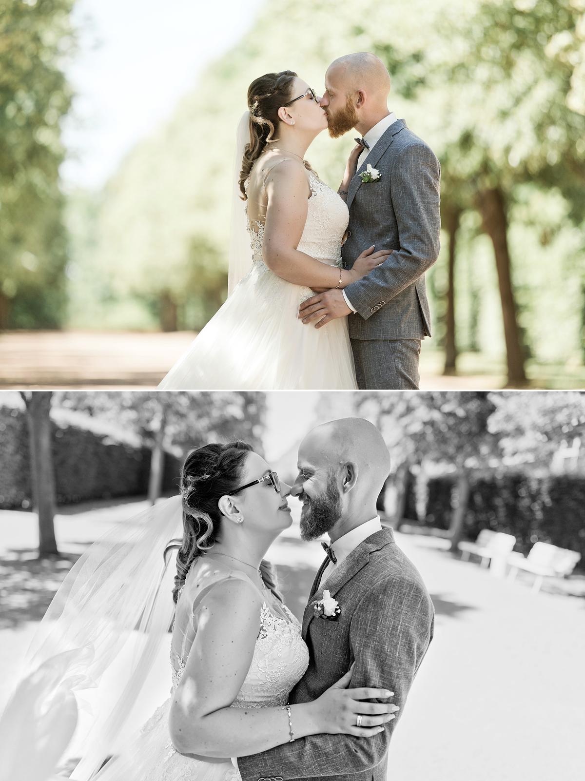 schloss Lichtenwalde hochzeit Brautpaar hochzeitsfotos hochzeitsfotograf ben pfeifer