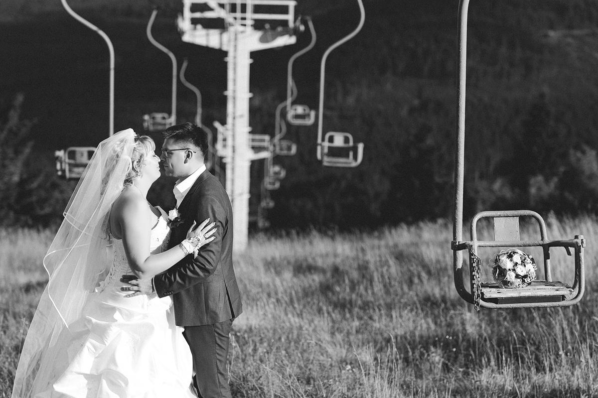 Sessellift in Oberwiesenthal Hochzeit Hochzeitsfotograf