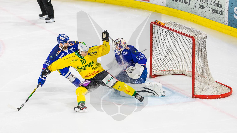 20.02.2021   In der Swiss Arena in Kloten schlägt der EHC Kloten den HC Thurgau 1:4.