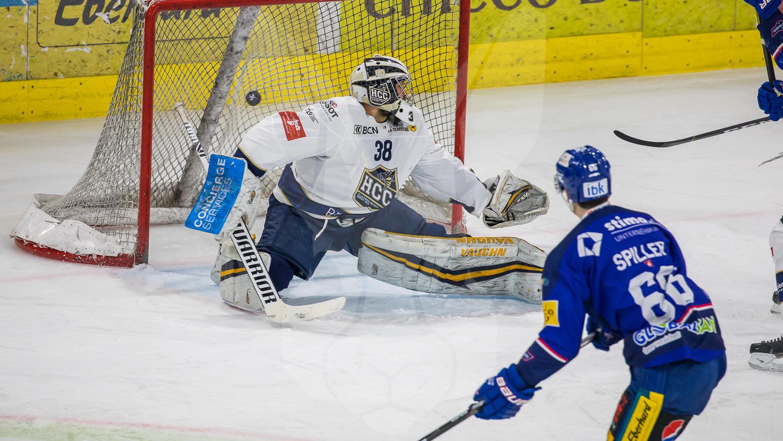 17.03.2021   Der EHC Kloten schlägt in den Playoff Viertelfinals den HC La Chaux-de-Fonds 5:4
