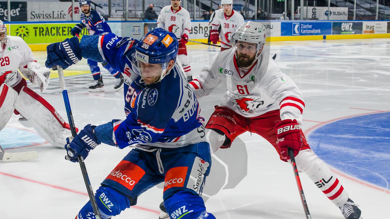 19.04.2021   ZSC Lions sichern sich mit 3:1 gegen Lausanne einen ersten Matchpuck für den Playoff Halbfinal.