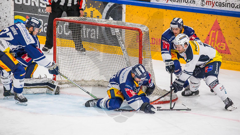 02.03.2021   Eishockey NL   Im Gotthard-Derby unterliegt der Gastgeber EV Zug dem HC Ambri-Piotta 5:4.