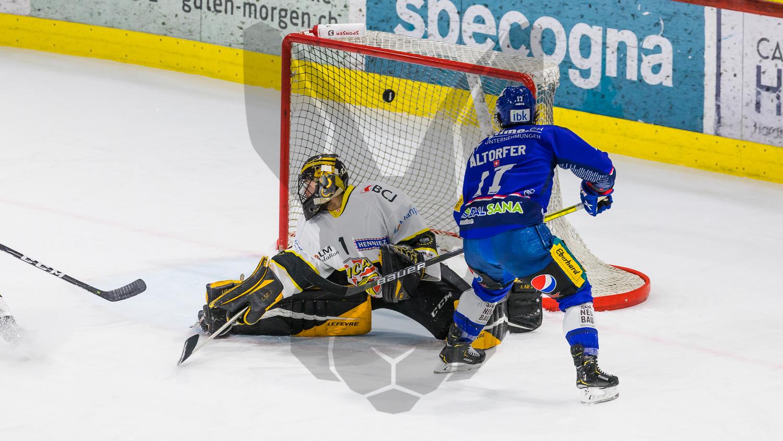 22.04.2021   EHC Kloten gewinnt gegen den HC Ajoie 2:0 und geht in der Finalserie mit 2:1 in Führung.
