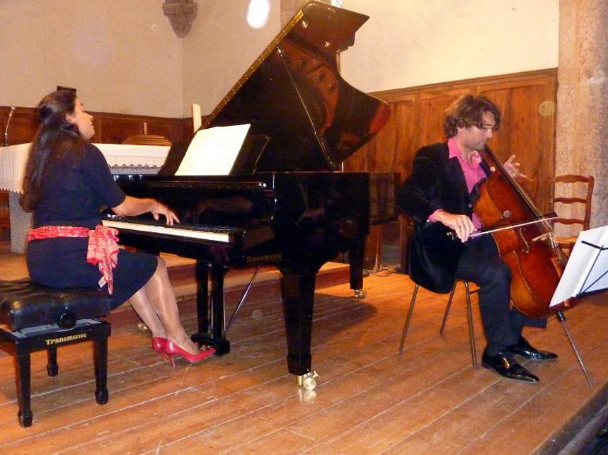 14 Août : Juliana Steinbach et Guillaume Martigné