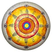 Logo Mandala Praxis für Integrative Psychotherapie, Hypnose und EMDR nach Heilpraktikergesetz in Charlottenburg Kathrin Pasold