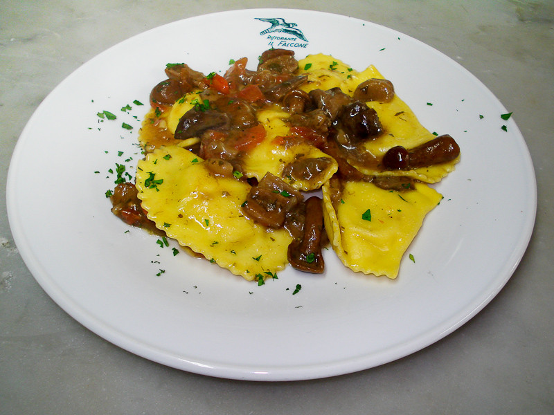 Tortelli di patate ai funghi