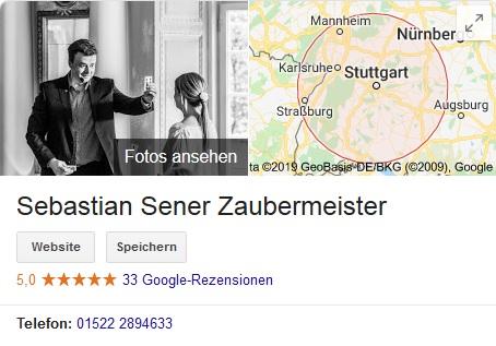 Zauberer Frankfurt & Zaubershow