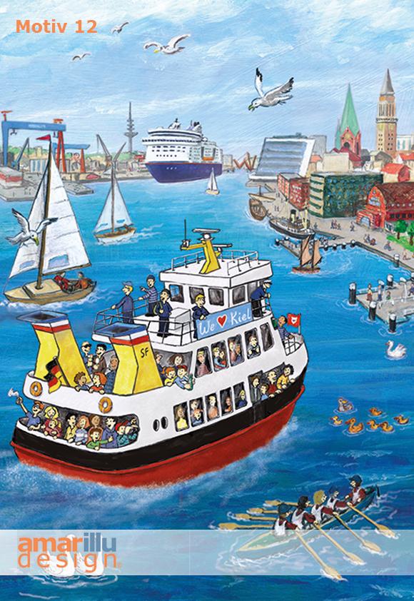 www.amarillu.de, Kiel Hafeneinfahrt, Motiv 12