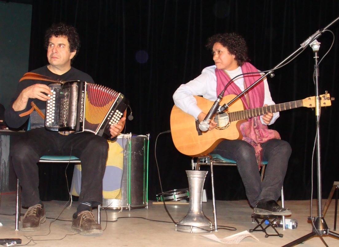 Jackie OGIER, Gilles ROUGEYROLLES-Bal Téléthon Verfeil 09/12/2010
