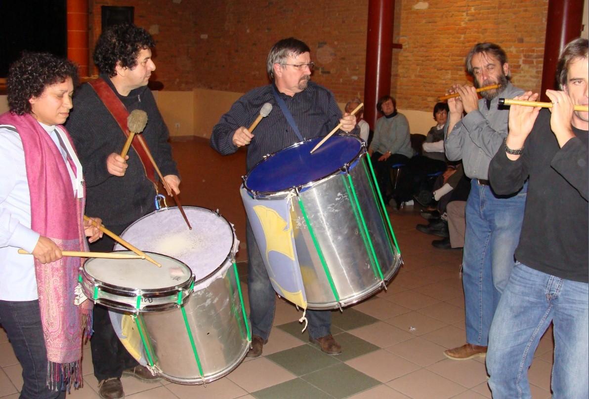 Jean-Michel OGIER, Gilles ROUGEYROLLES, Robert BLANC-Bal Téléthon Verfeil 09/12/2010