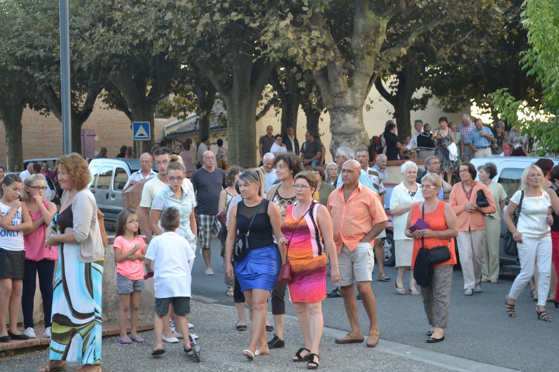Public -Châteaux Chantants Castelmayran 20/09/2014-crédit photo A. GUINVARCH