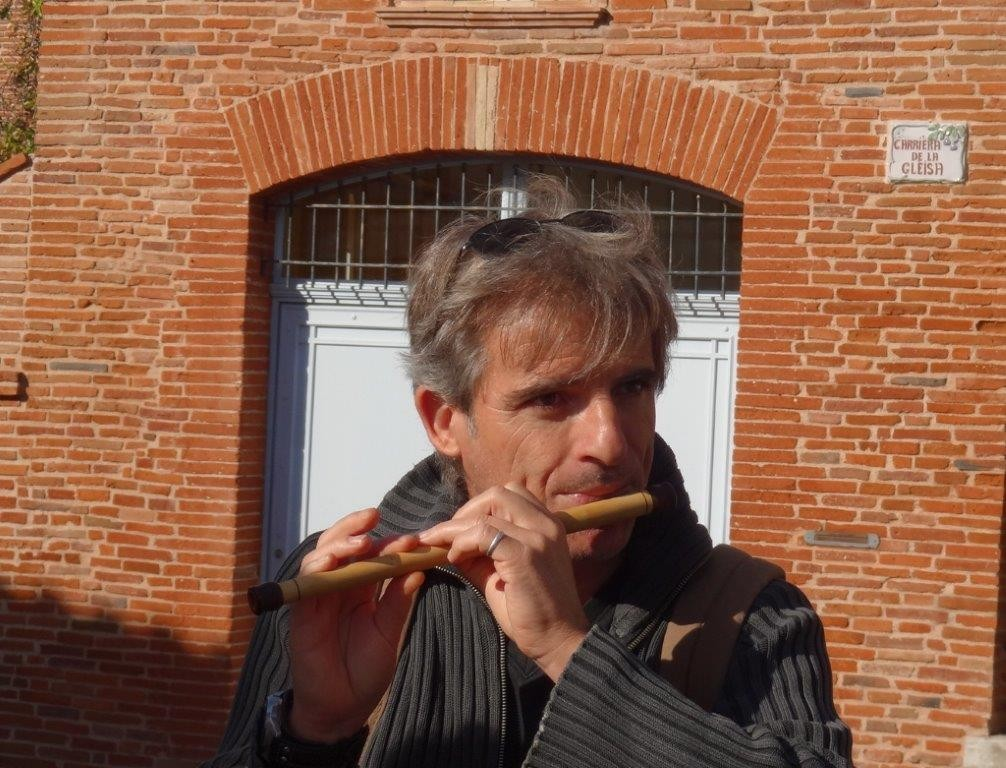 Franck FERRERO au fifre - Bassacada à Fête du Figuier 20/10/2013