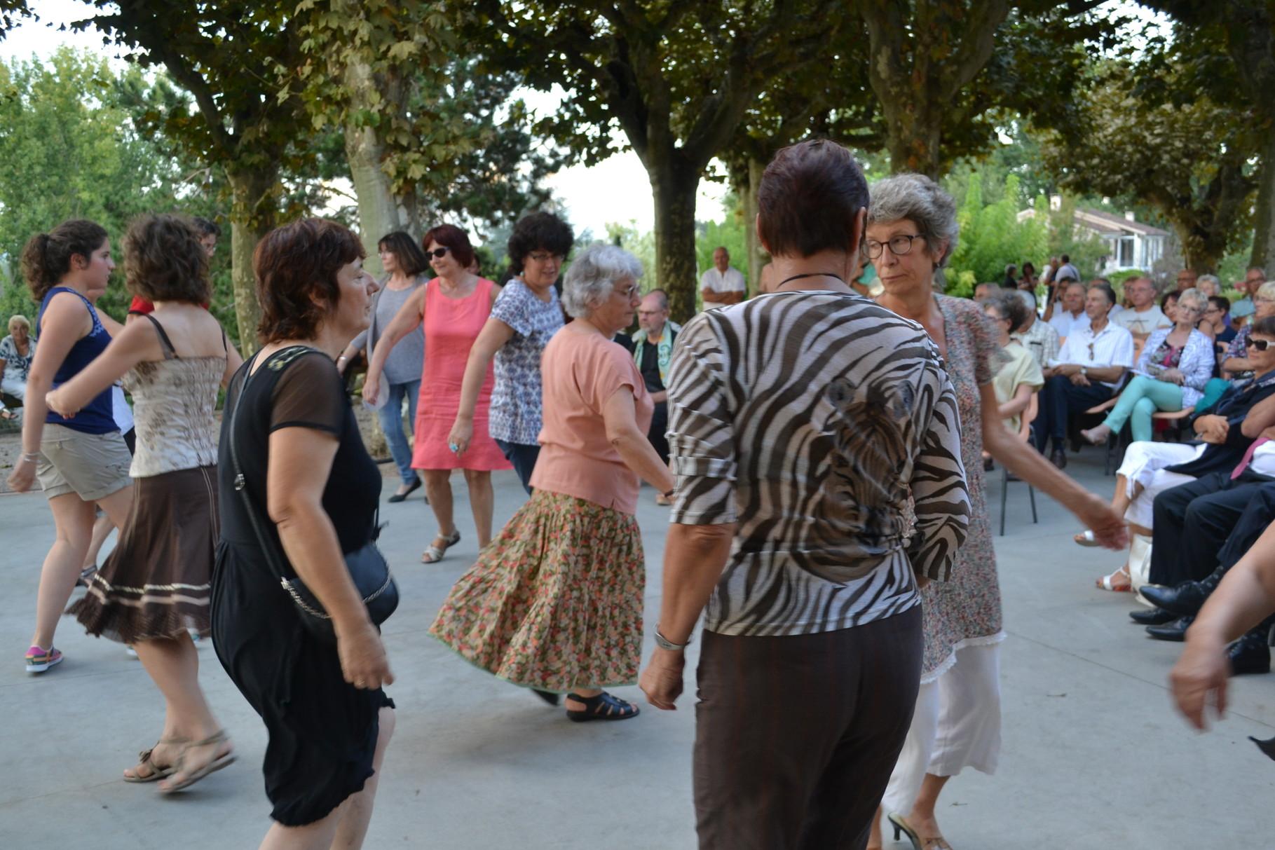 Danseurs -Châteaux Chantants Castelmayran 20/09/2014-crédit photo A. GUINVARCH