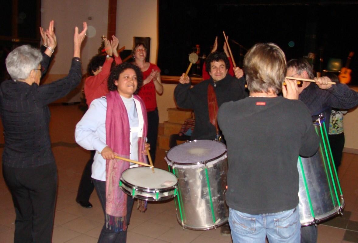 Jackie et Jean-Michel OGIER-Bal Téléthon Verfeil 09/12/2010