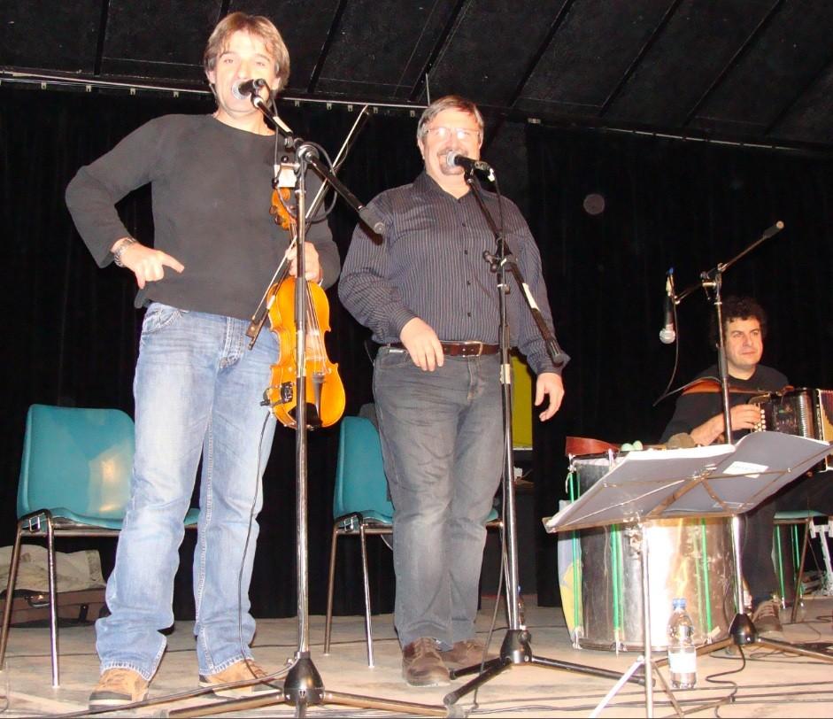Jean-Michel OGIER et Franck FERRERO-Bal Téléthon Verfeil 09/12/2010