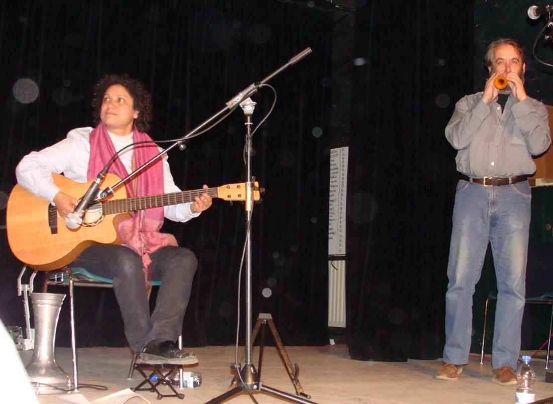 Jackie OGIER, Robert BLANC -Bal Téléthon Verfeil 09/12/2010