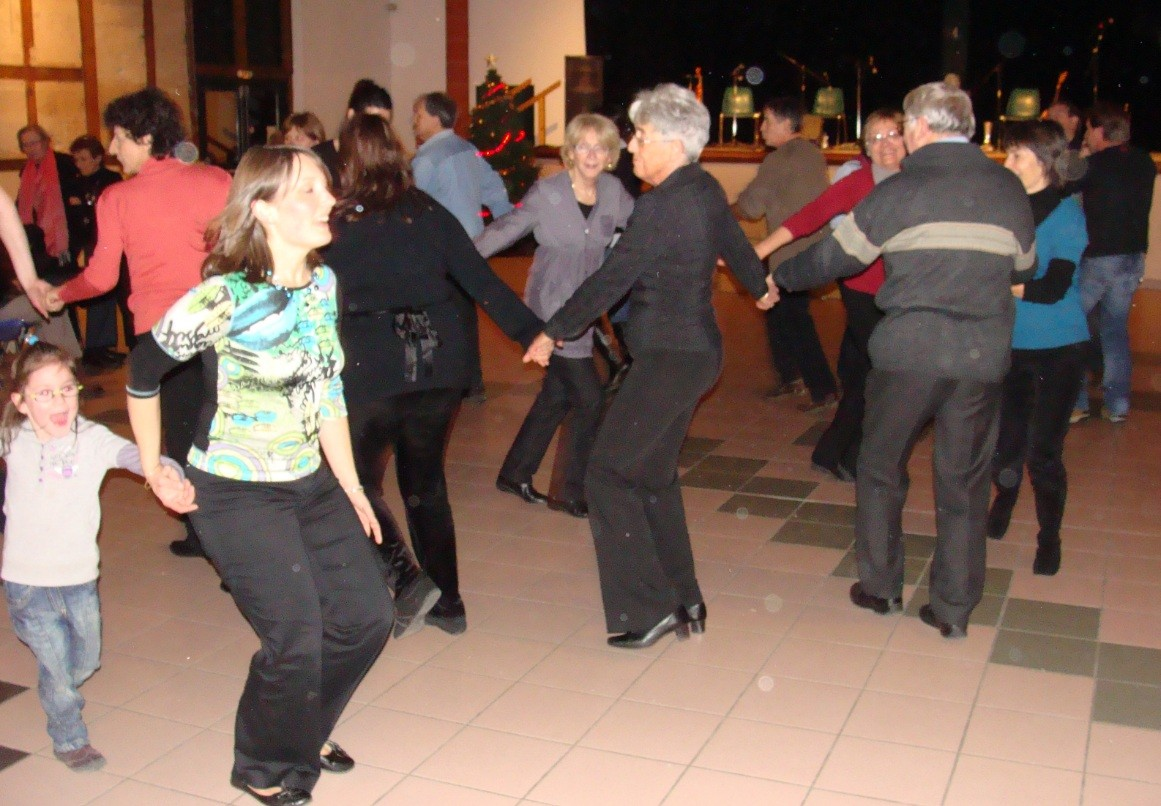 Danseurs Bal Téléthon Verfeil 09/12/2010