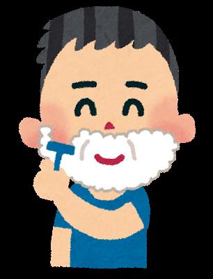 ヒゲ,髭剃り,口ヒゲ,あごヒゲ
